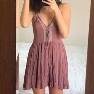 Free People Intimately Mauve Slip Dress
